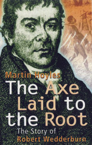 Axe Laid To The Root - Martin Hoyles