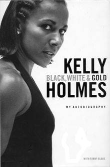 Black, White & Gold - Kelly Holmes