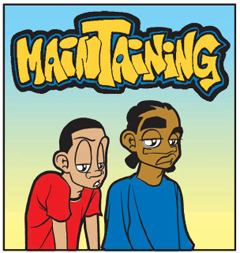 Maintaining by Nate Creekmore courtesy of Universal Press Syndicate