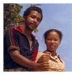 Ronald Lewis & Kim In-soon back in the 1970s